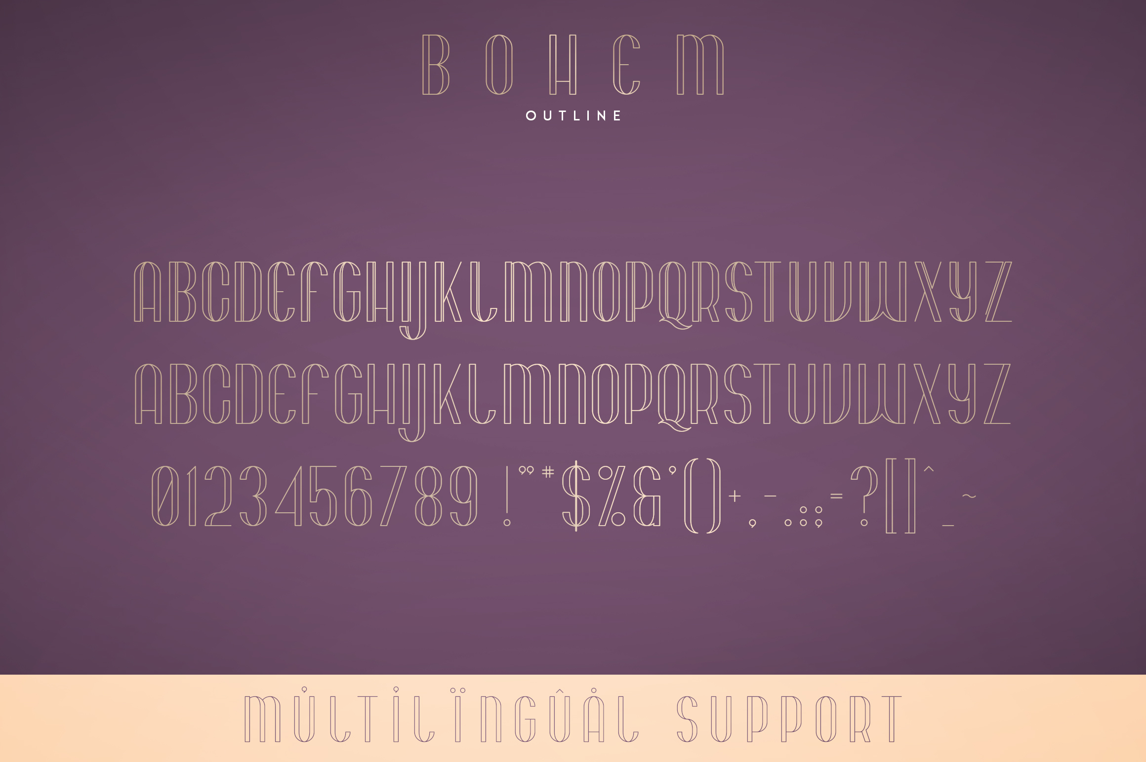 Bohem - Display font | 2 styles example image 8