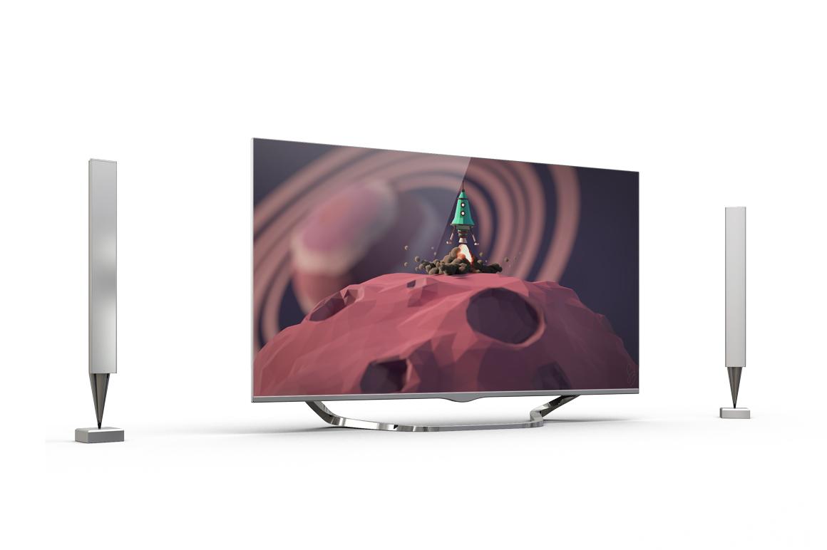 Smart TV Mockup example image 3