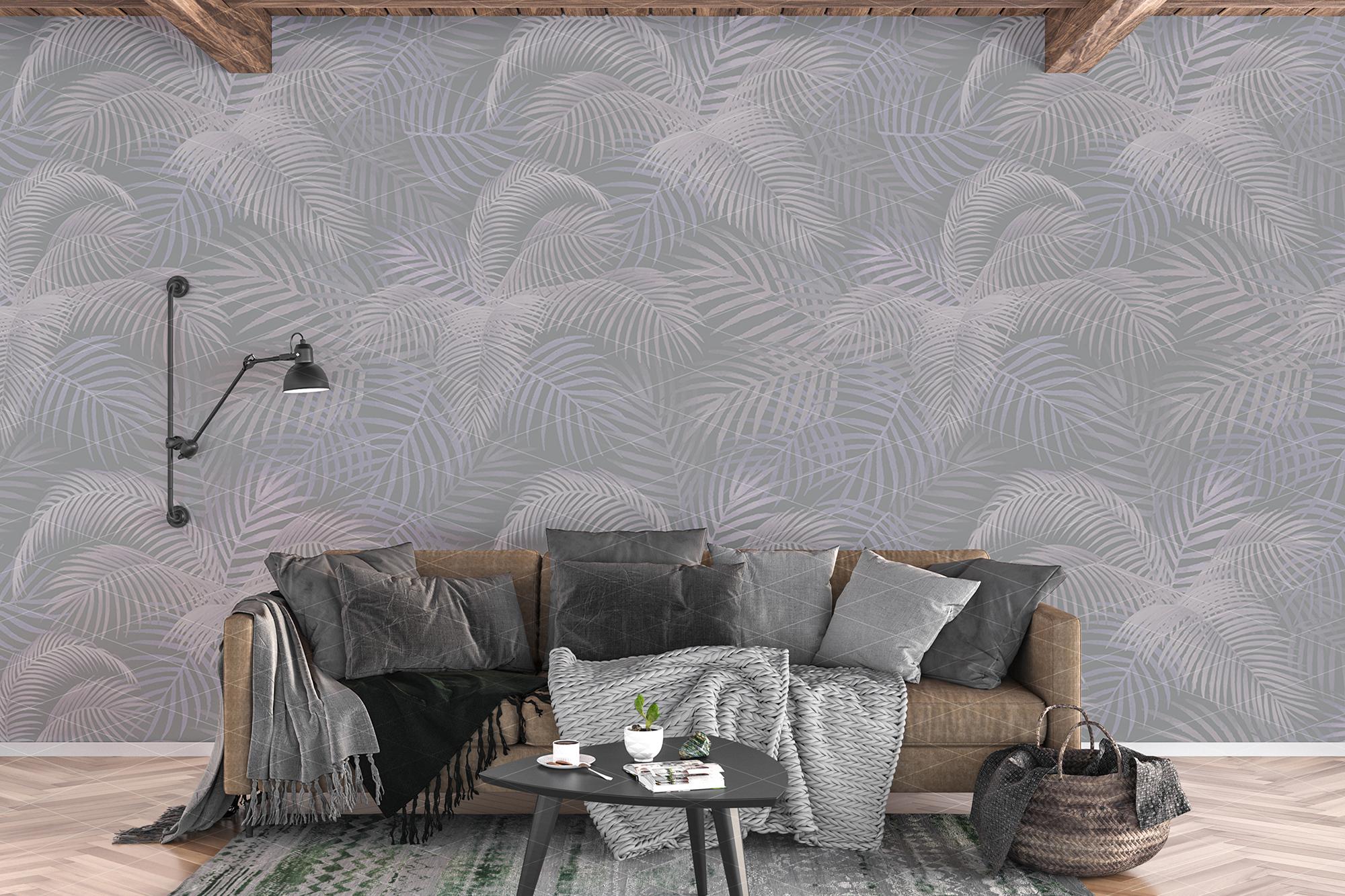Wall mockup - wallpaper mock up example image 4