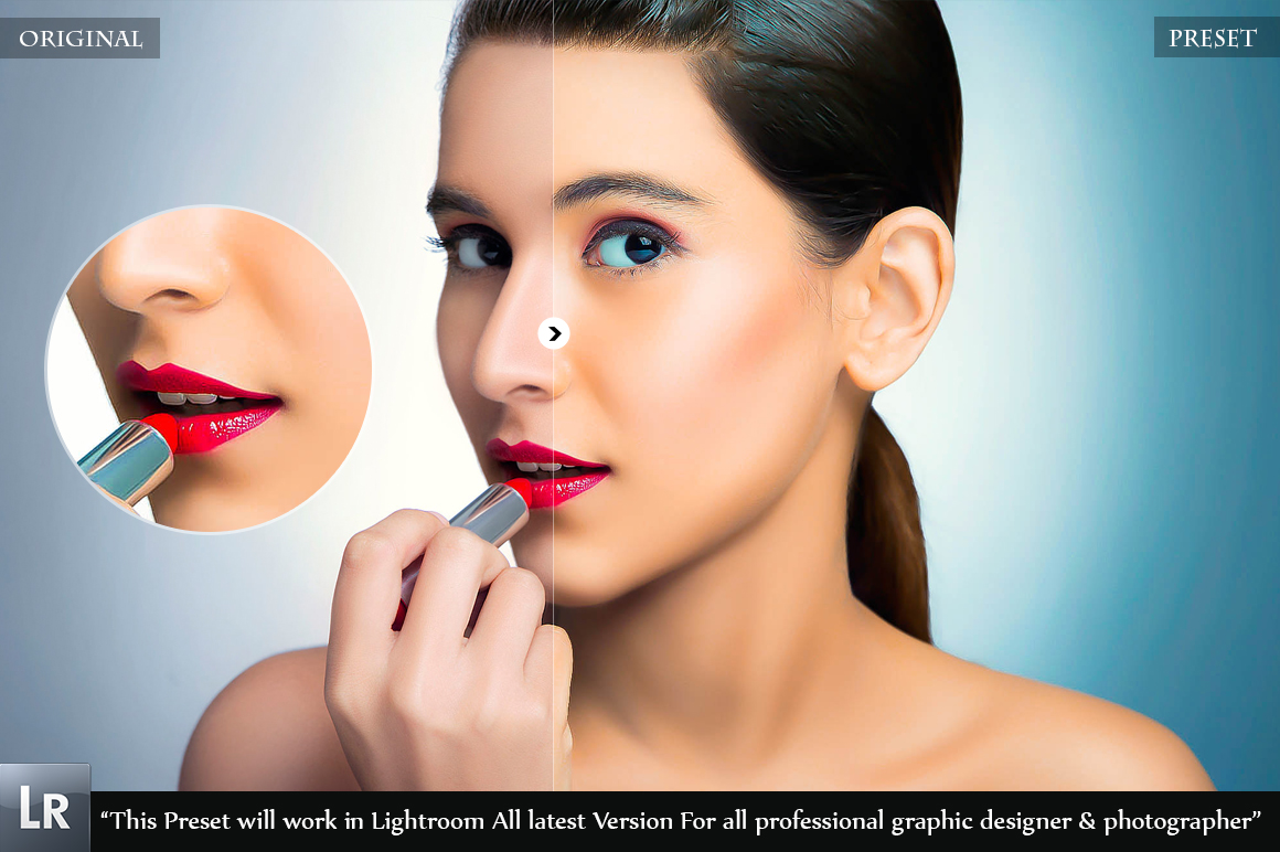Professional skin Retouch Beauty Preset example image 4