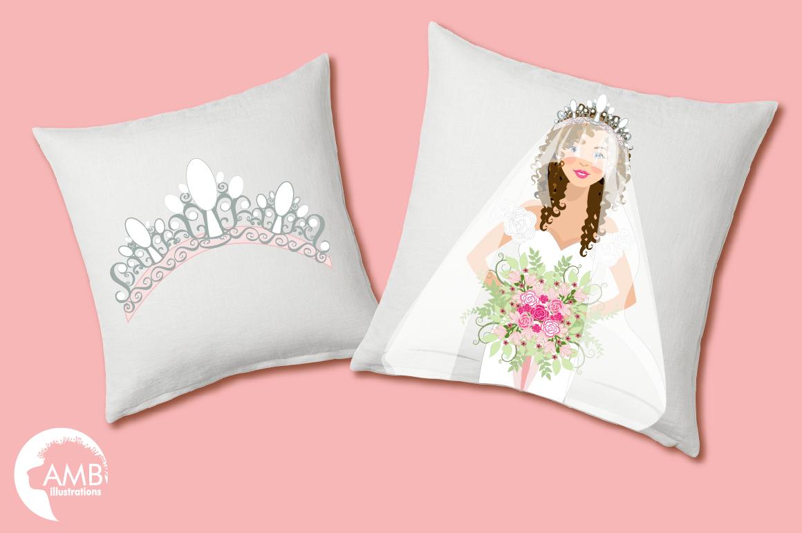 Wedding Bride cliparts AMB-937 example image 3