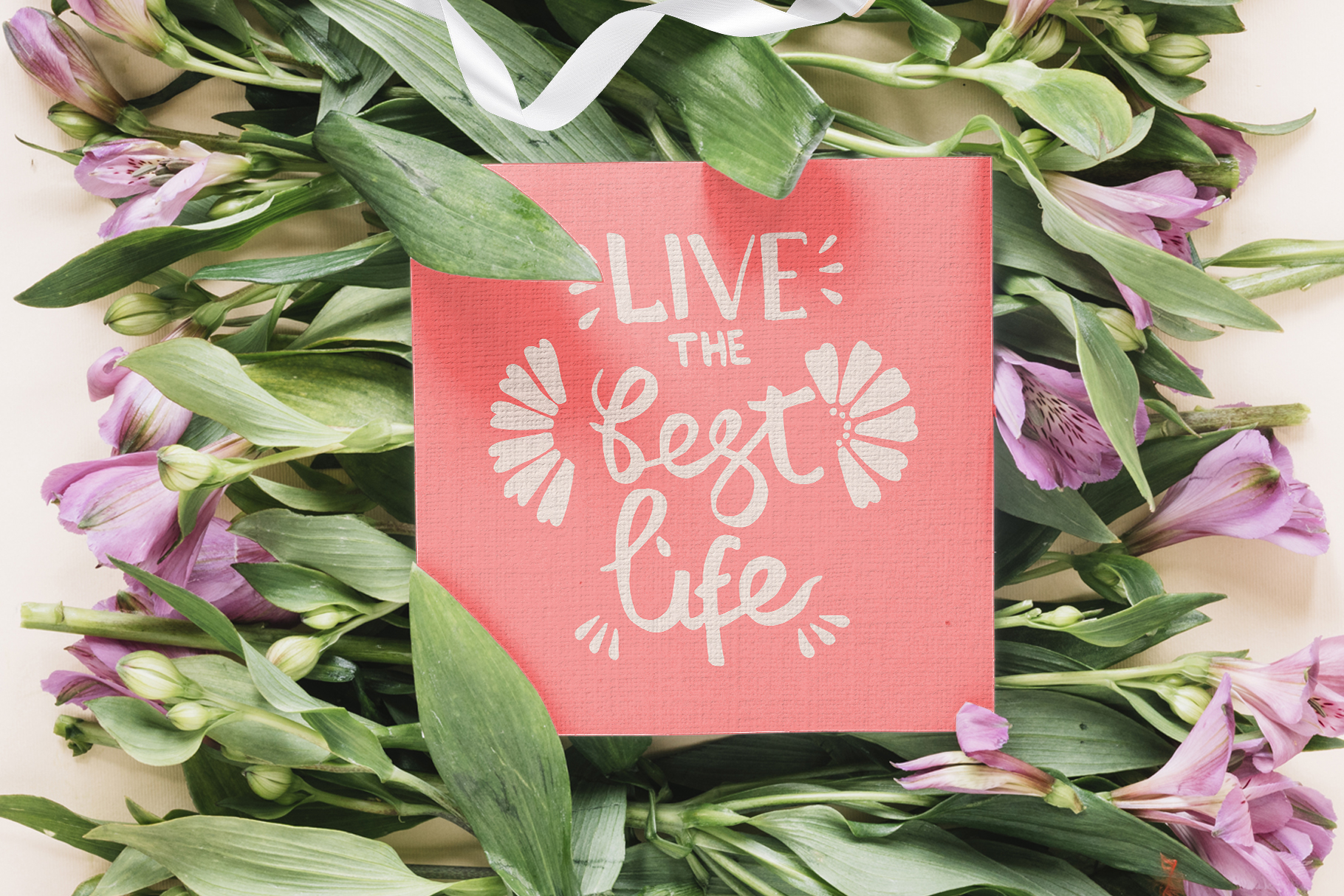Living coral attributes set Watercolor png example image 8