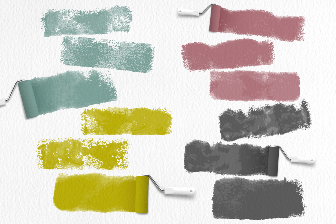 Roller Brushes for Illustrator example image 2