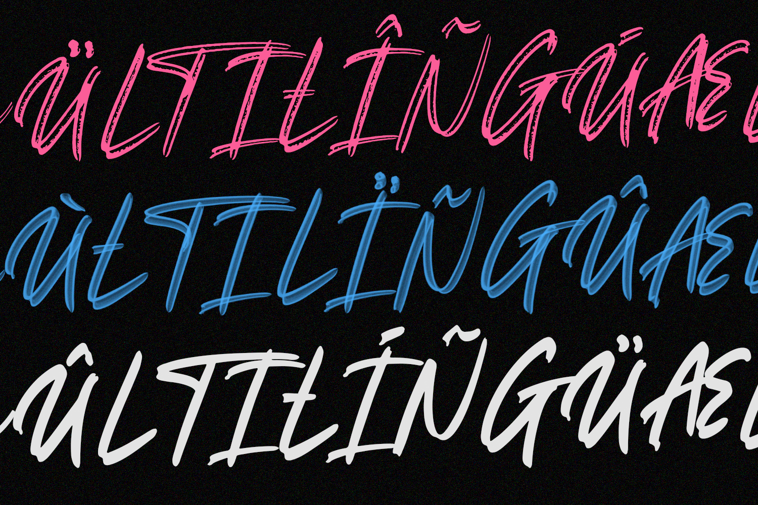 Russlock SVG Brush Font example image 10