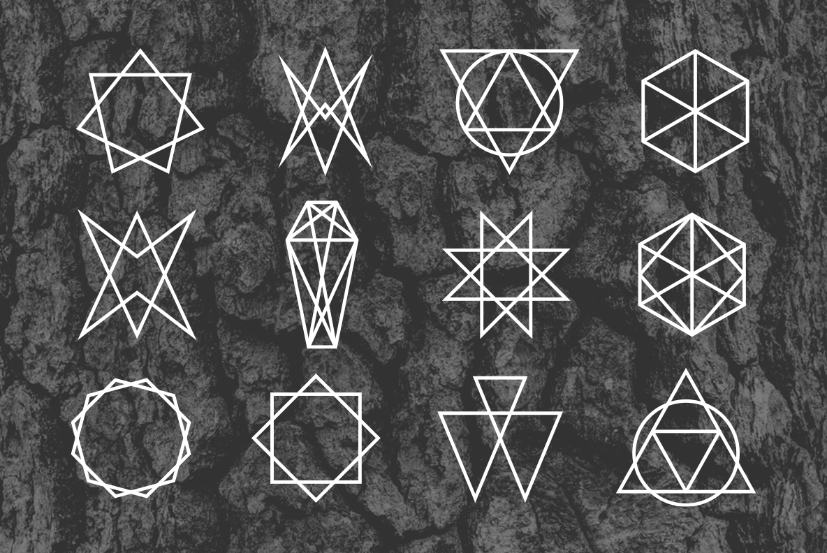 24 Occult Symbols Plus 4 Free Photos example image 5
