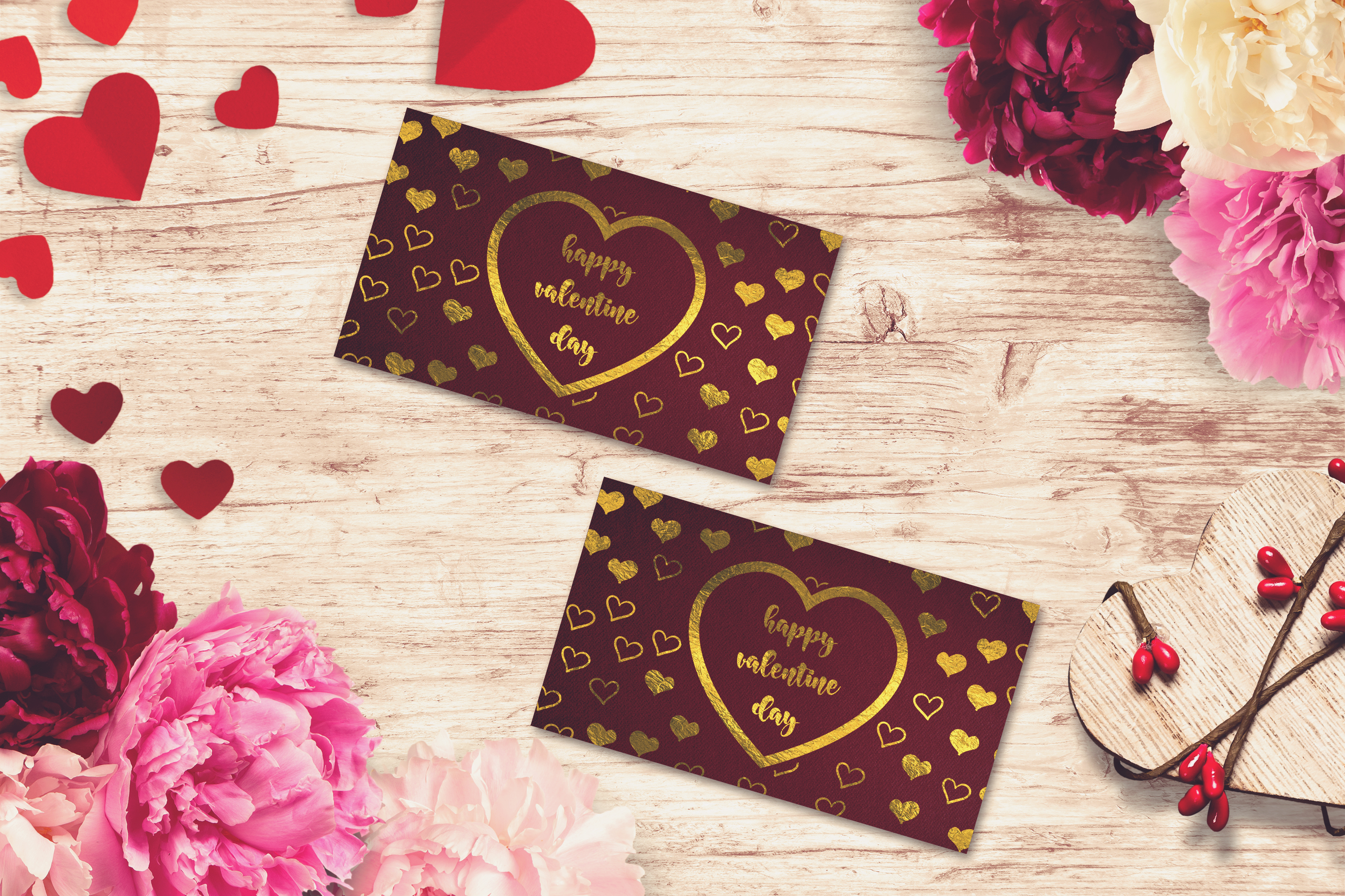 Valentine Card Mock-up #13 example image 1
