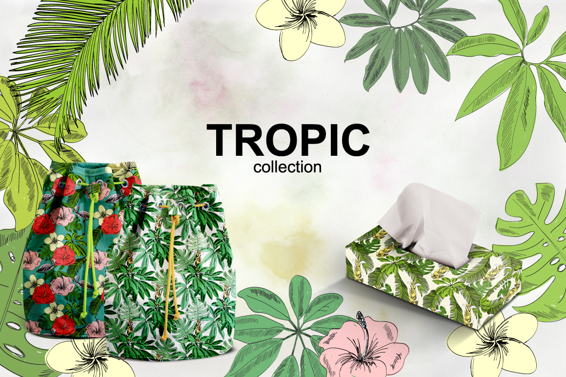 Tropical collection. example image 2