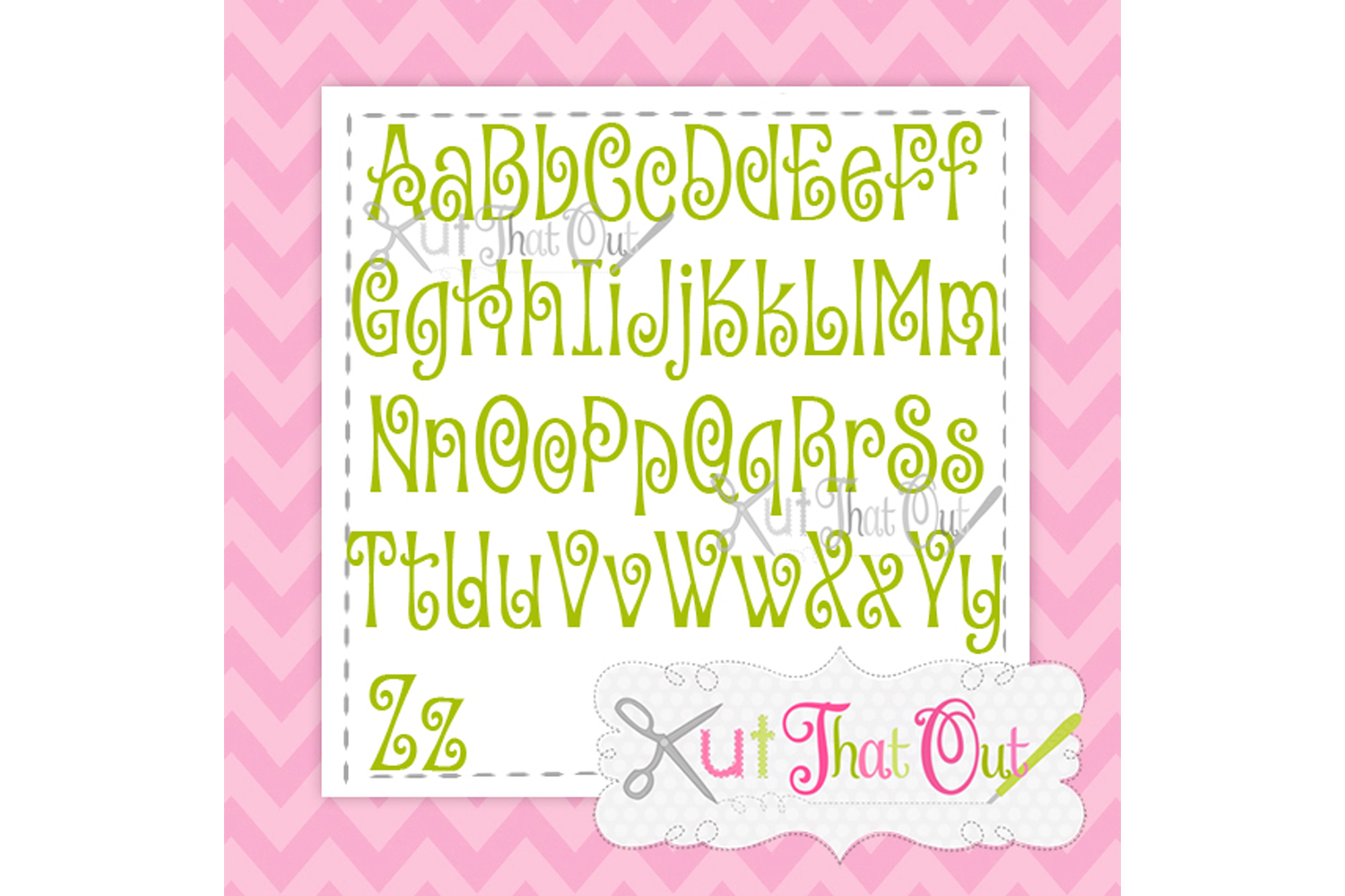 EXCLUSIVE Amorette Font SVG & DXF Cut File example image 2