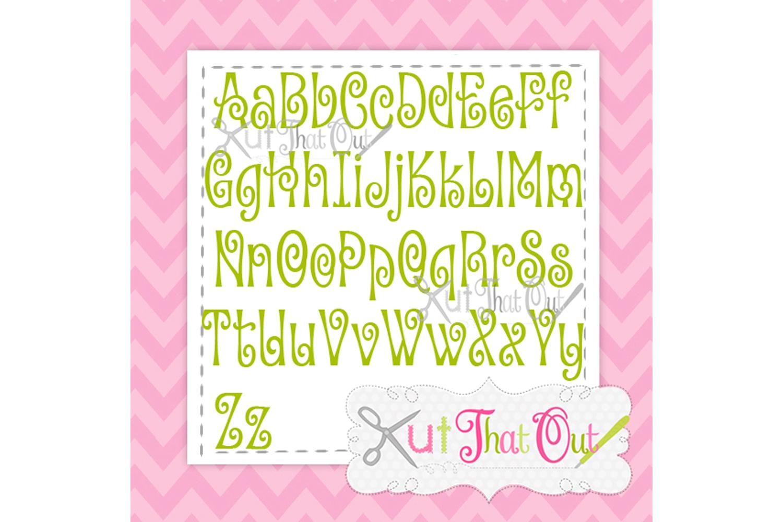 EXCLUSIVE Amorette Font SVG & DXF Cut File example image 2