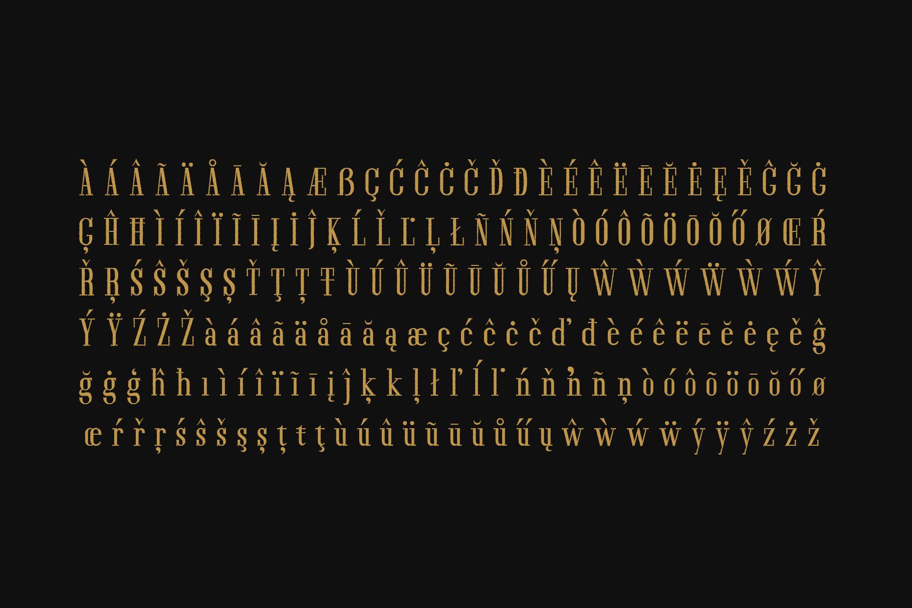 Furano Gyo font example image 5