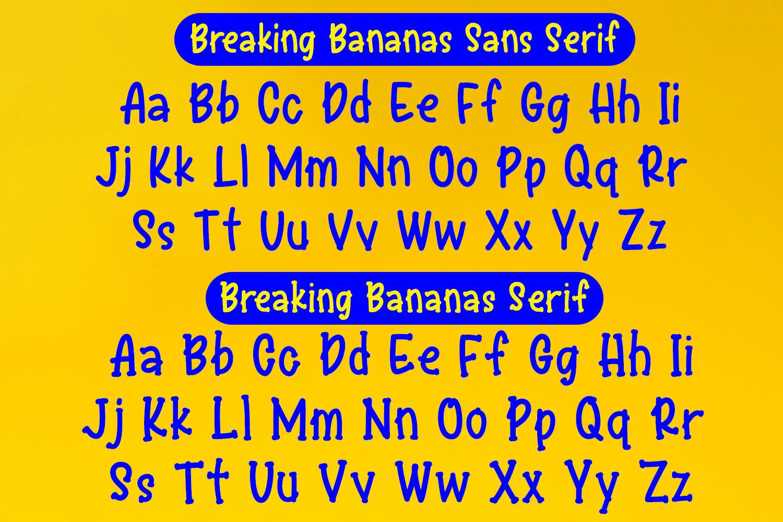 Breaking Bananas Print Duo example image 2