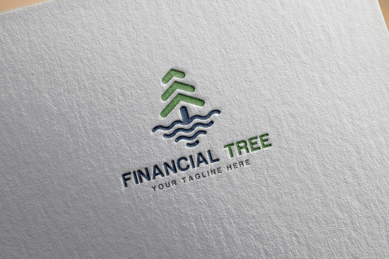 Financial Tree Logo example image 2
