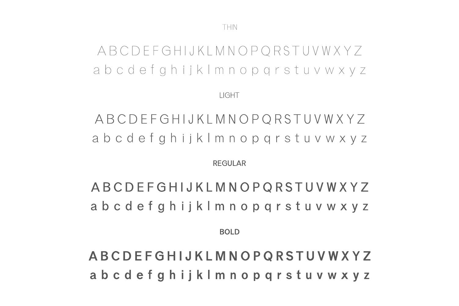 Effren An Essential Sans Serif Font example image 2