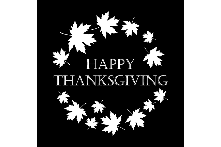 Set of 6 seamless vector backgrounds and 6 posters Thanksgiving Day. example image 3