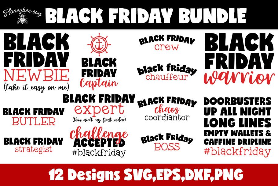 Black Friday Bundle SVG Cut files example image 2
