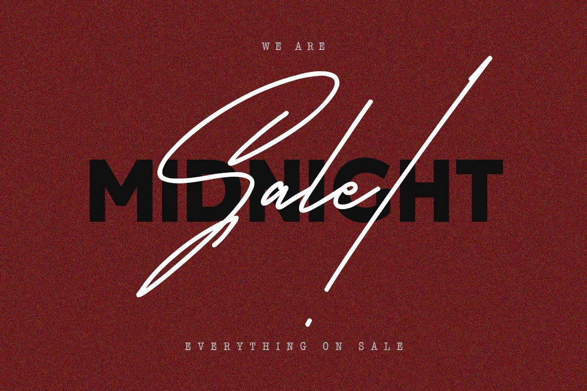 Satilas Signature - Free Sans example image 3