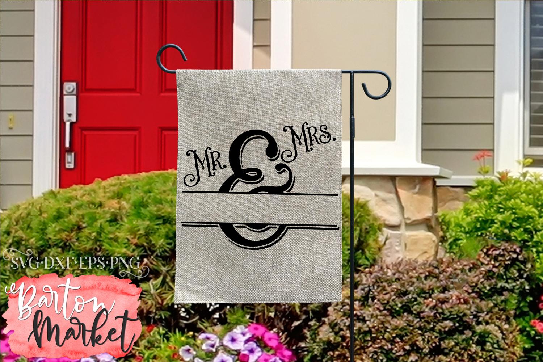 Mr & Mrs Monogram SVG DXF EPS PNG example image 5