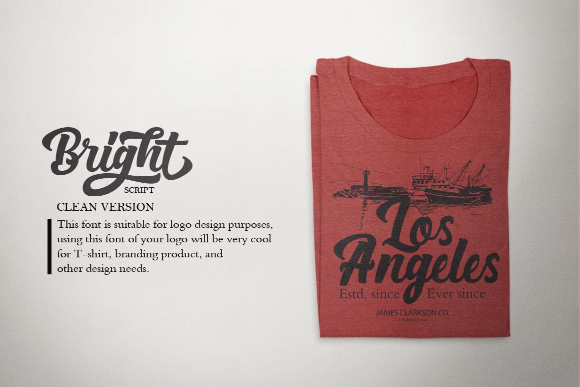 Bright Script (Fonts Trio)  example image 16