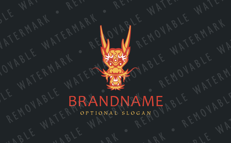 Chinese Dragon Logo example image 3