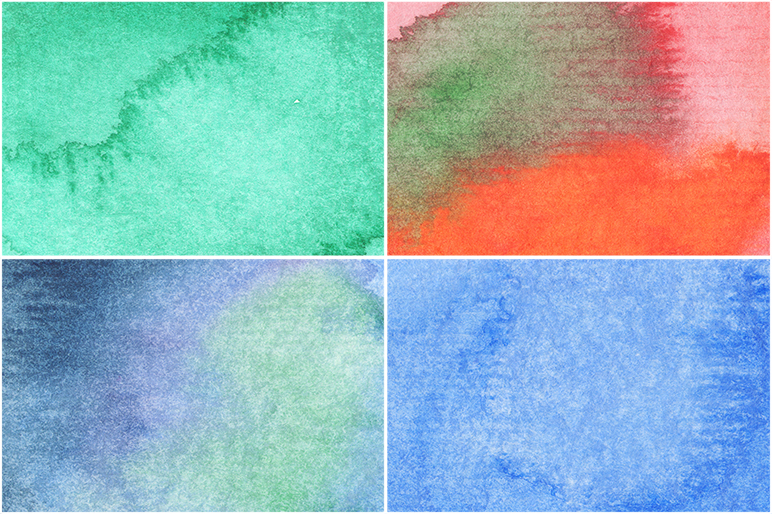 50 Watercolor Backgrounds example image 9