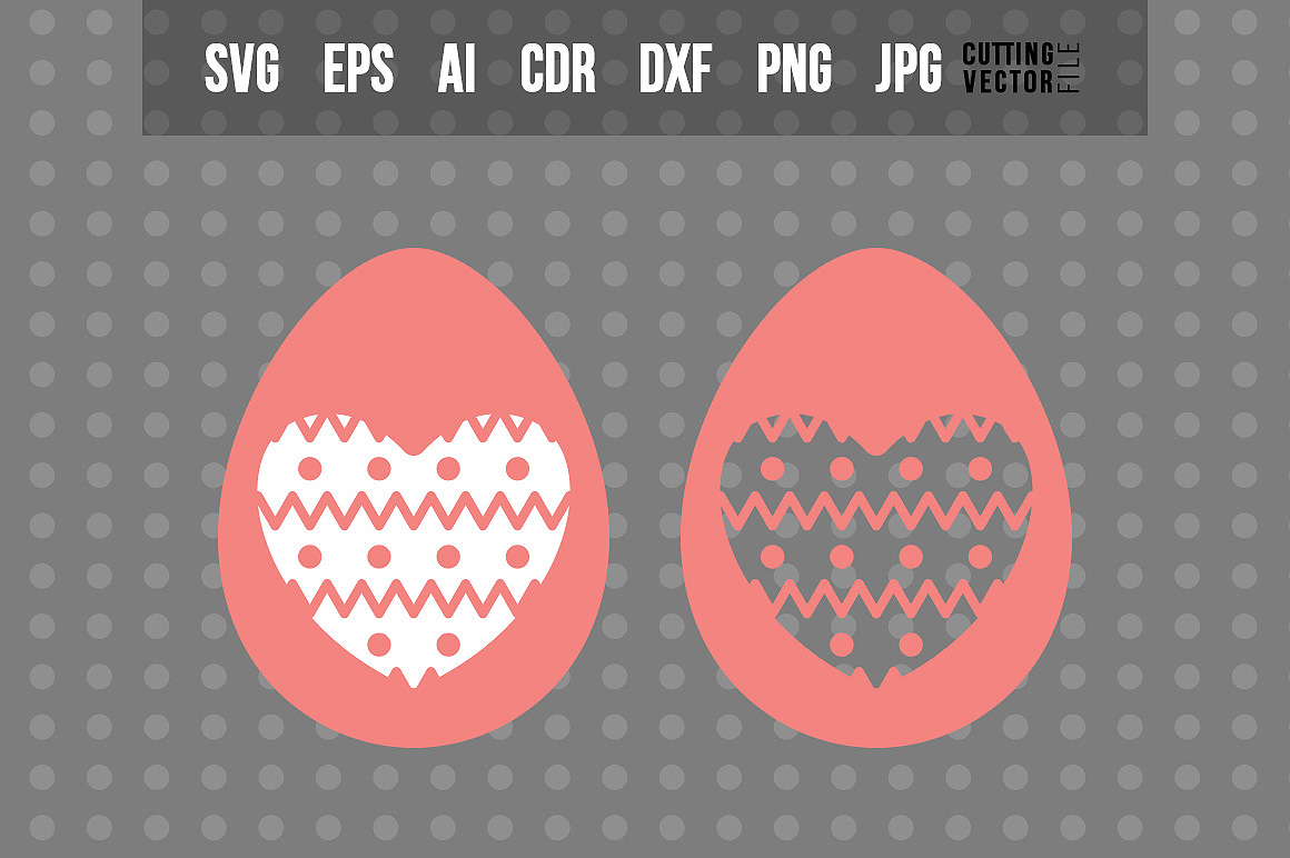 Egg SVG - Easter Decoration example image 1