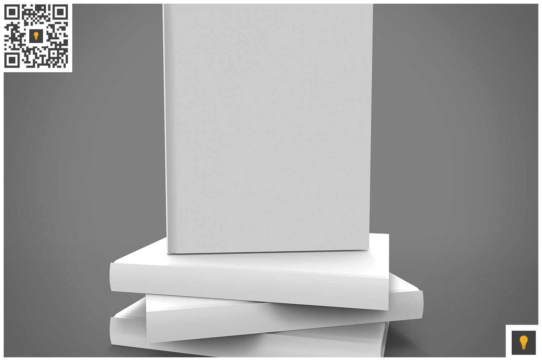 Book Set 3D Render example image 4