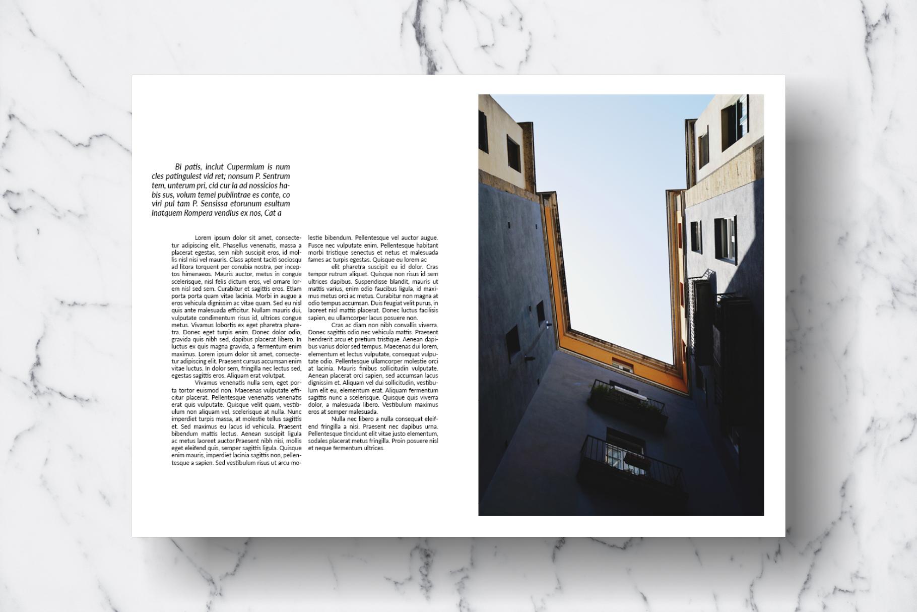 Magazine Template Vol. 13 example image 6