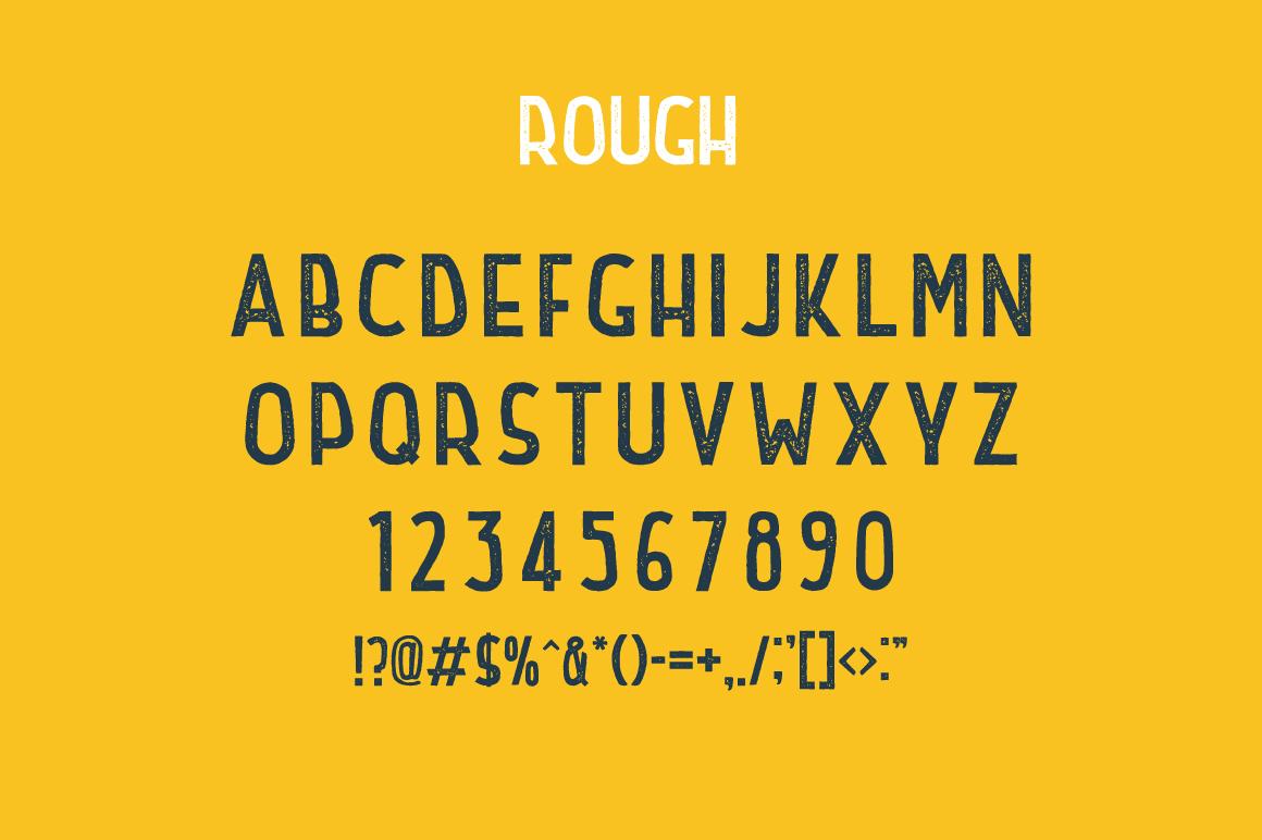 Retrospective Bundle - Fonts & Logos example image 5