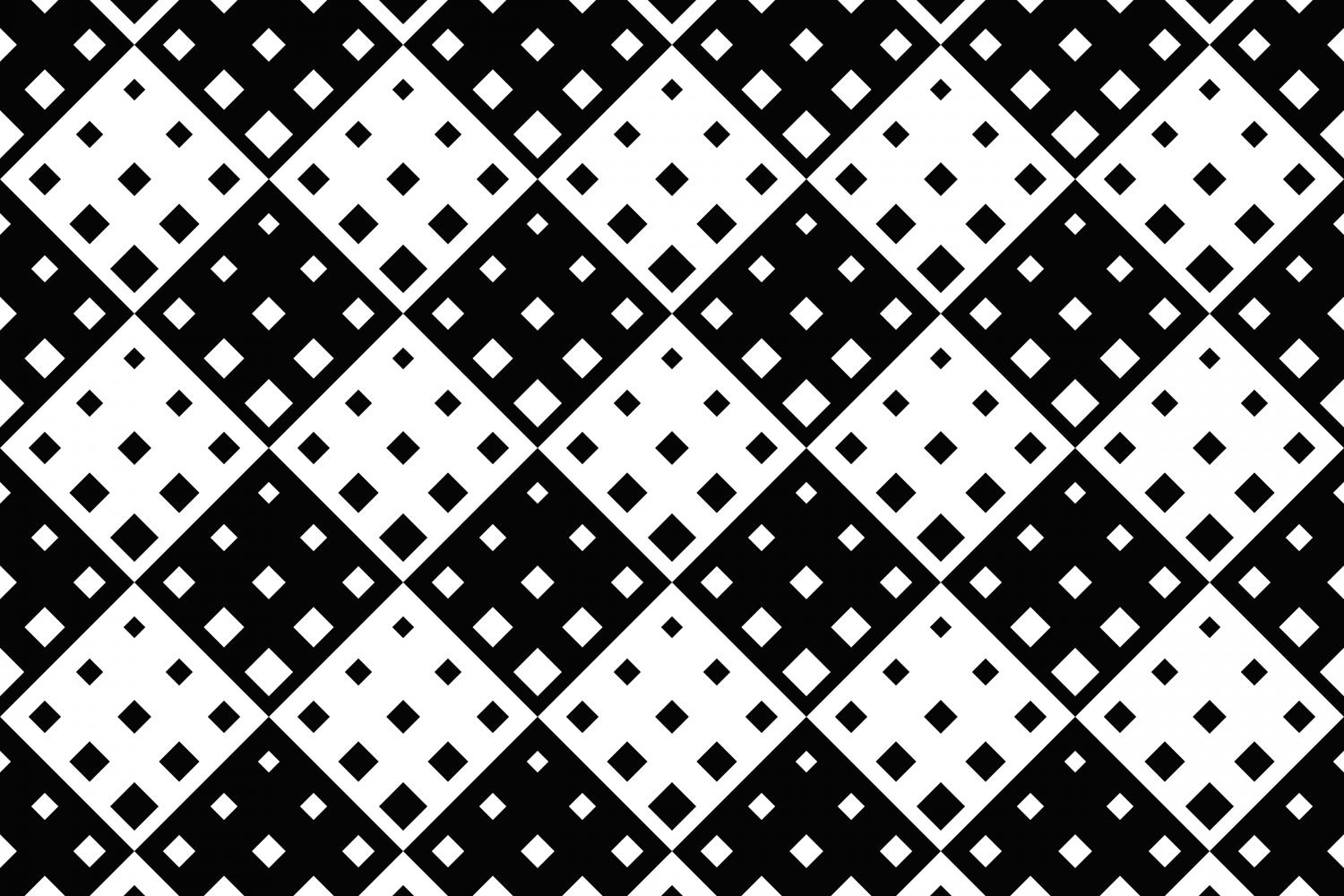 24 Seamless Square Patterns example image 16