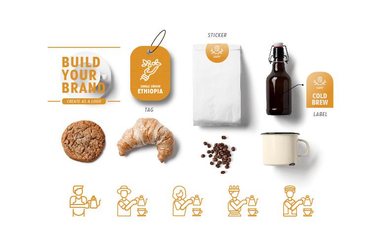 24 DRIP COFFEE ICON example image 3