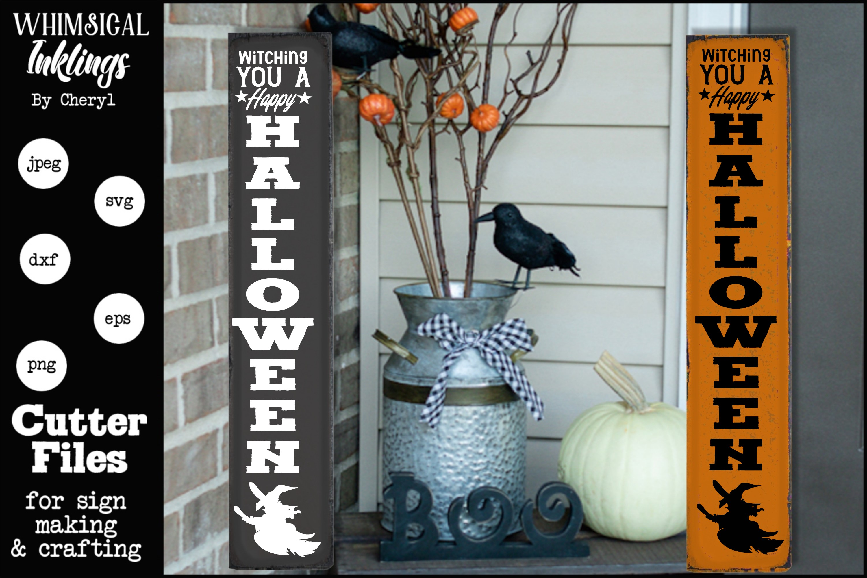 Witching You-Vertical Halloween SVG example image 1