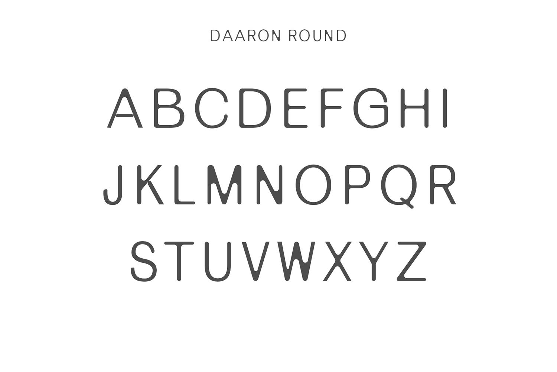 Daaron Sans Serif Font Family example image 3