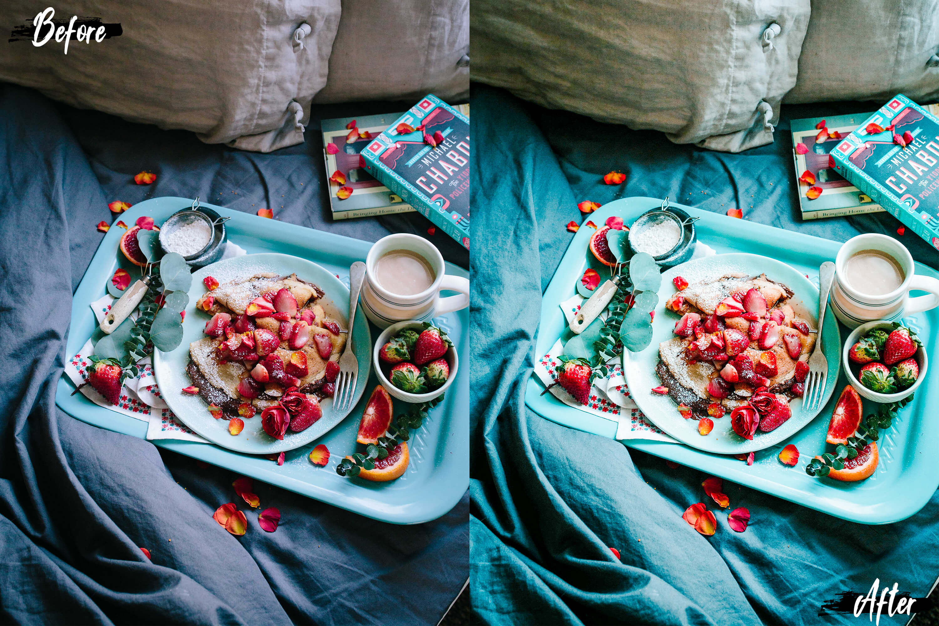 Neo Yummy Food Theme Color Grading photoshop actions example image 9
