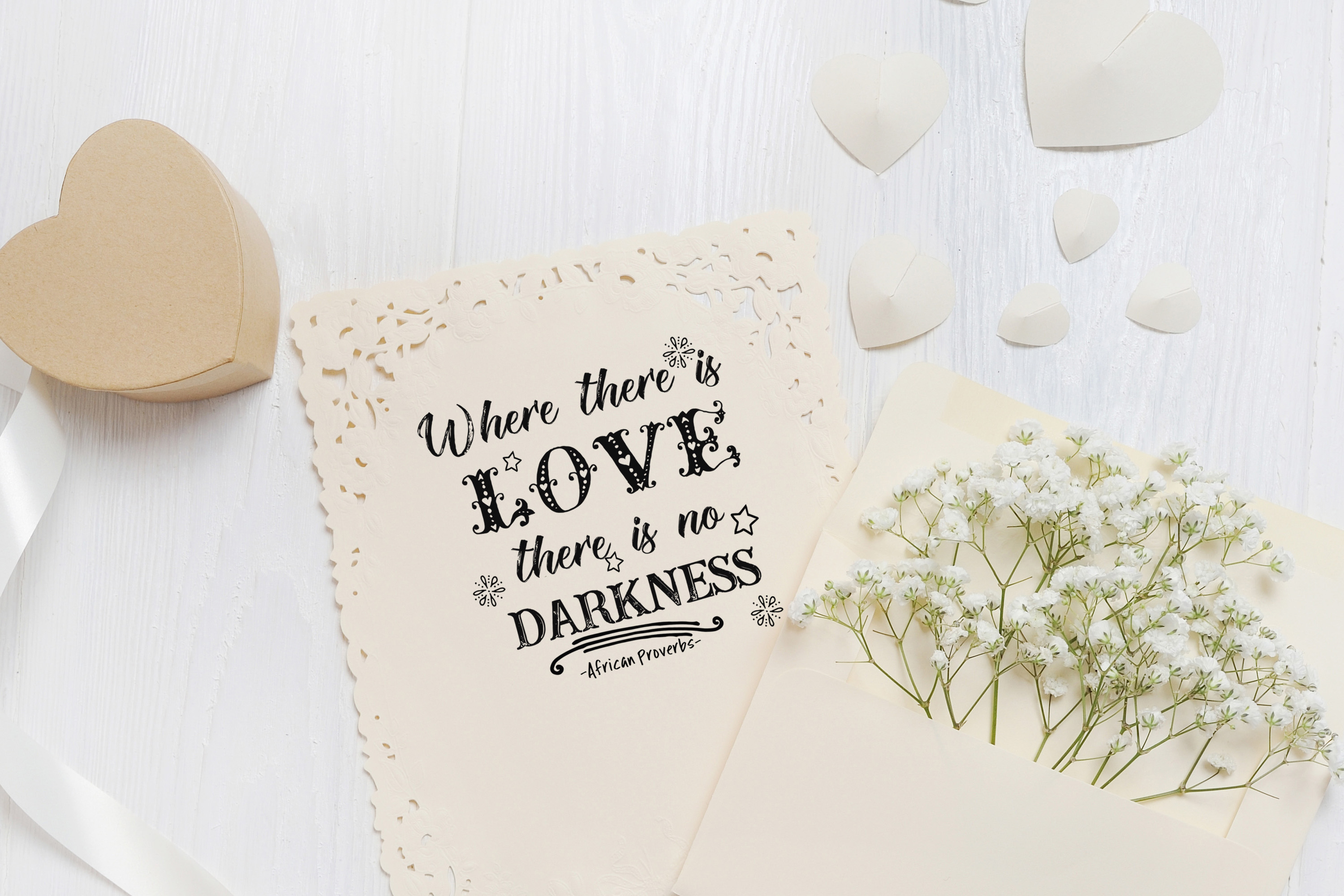 African Proverbs Overlays Bundle #2 example image 5