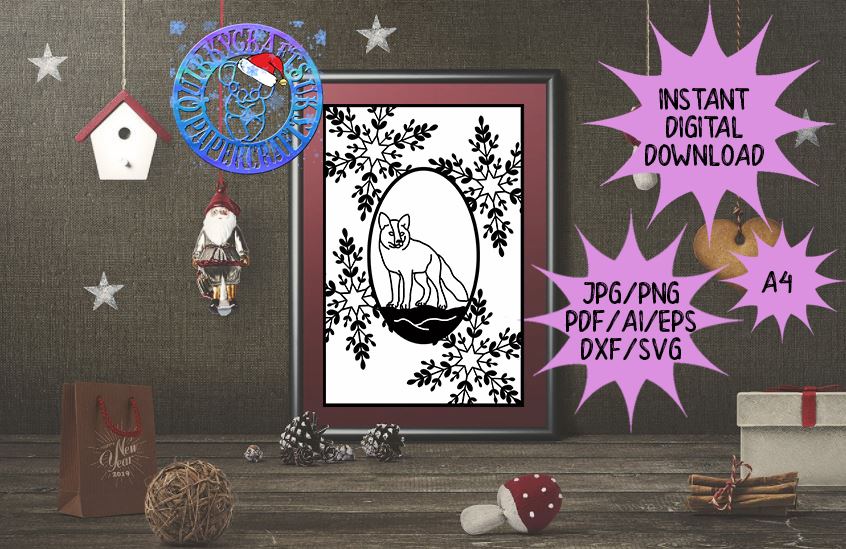60 brand new ADVENT Templates jpg/png/ai/dxf/svg example image 8