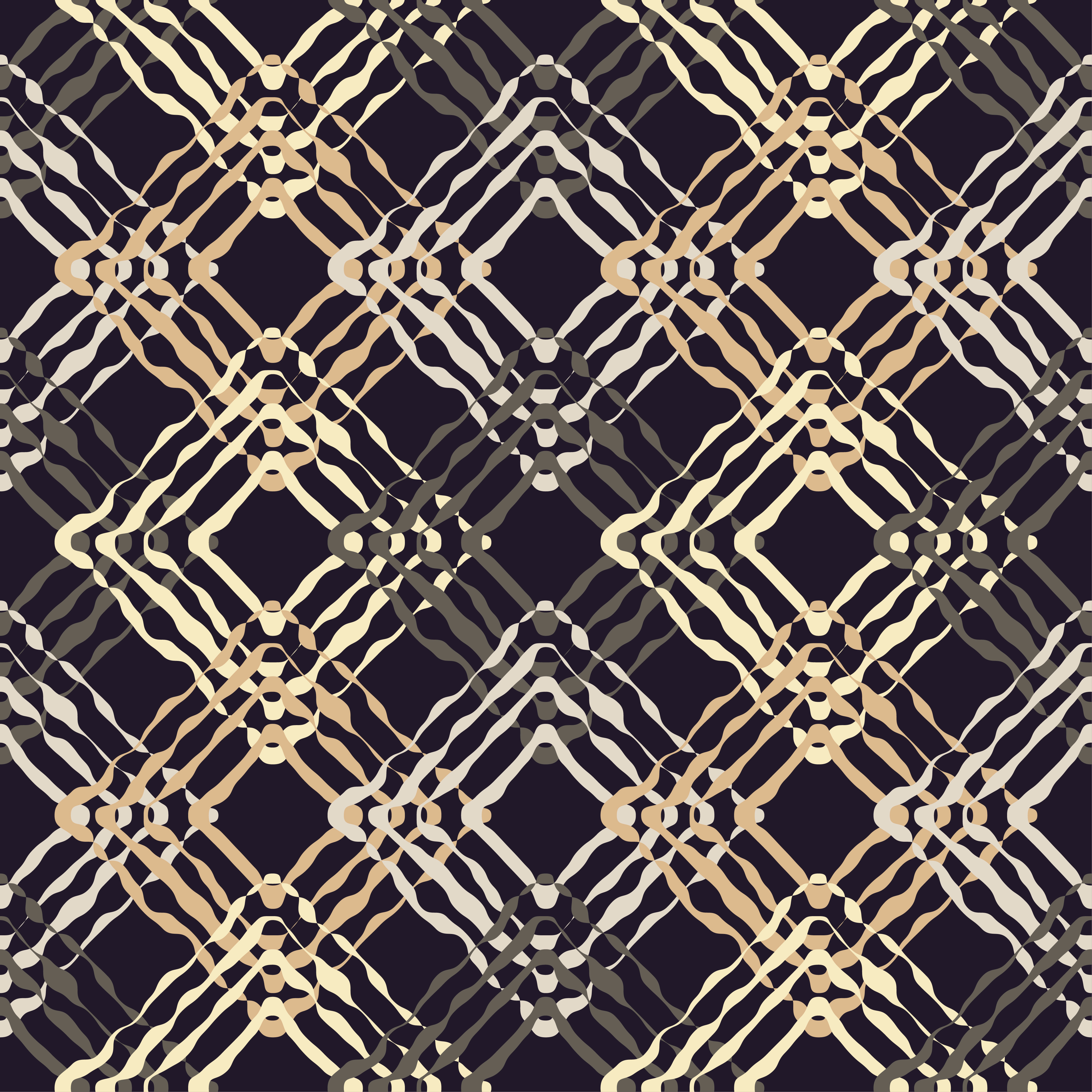6 Ethnic boho seamless pattern. Scribble texture. Retro motif. example image 4