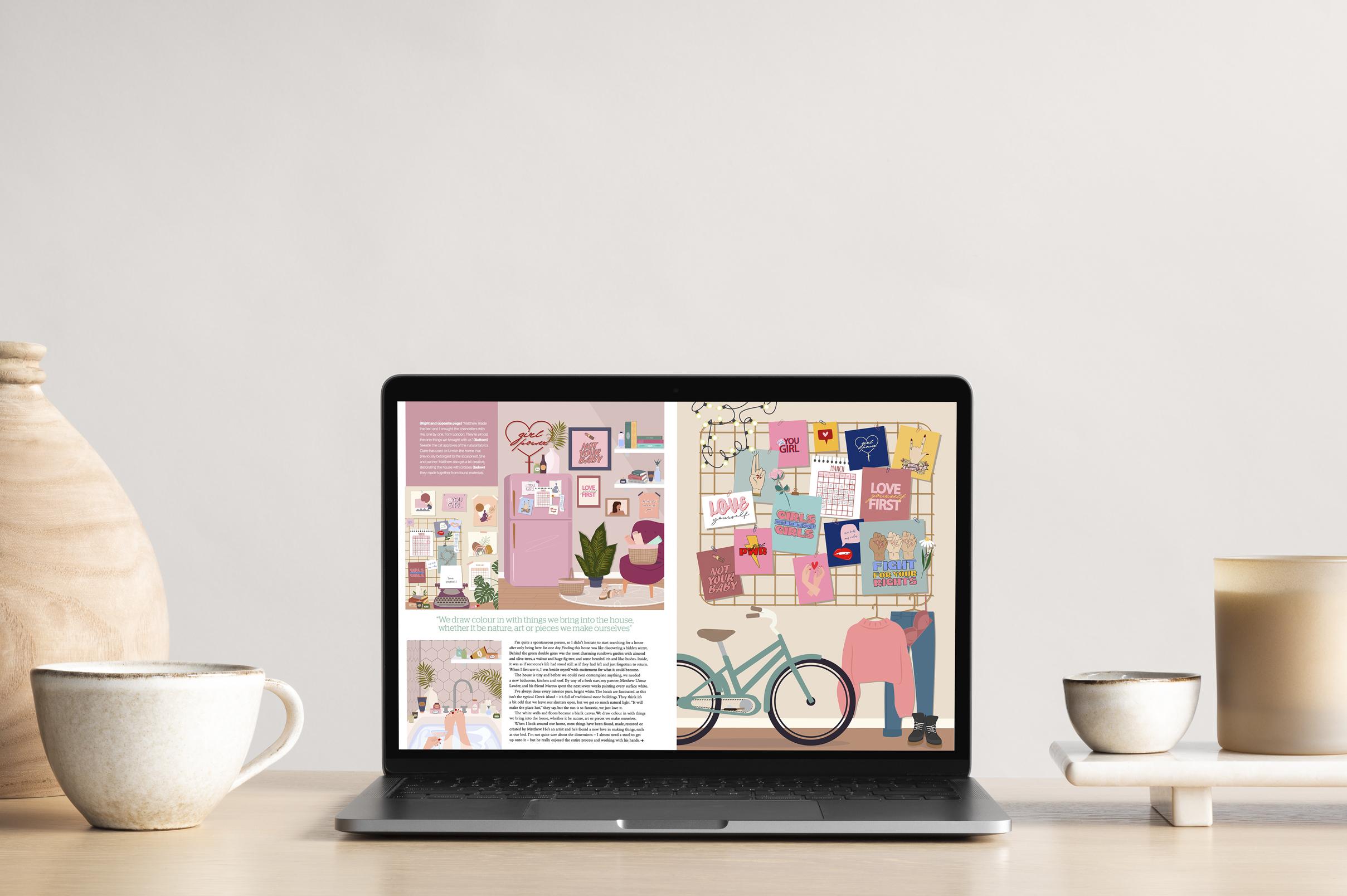 Lifestyle interior & mood board example image 8