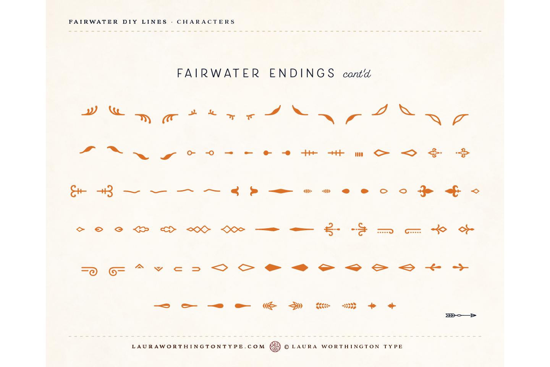 Fairwater DIY Lines example image 32