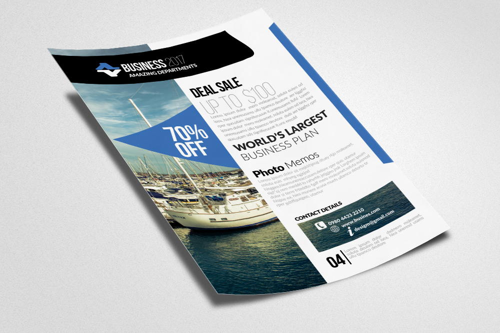 Apartment & Condominium Flyer Templates example image 2