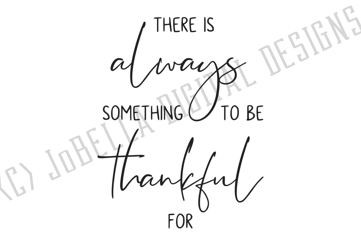 Grateful SVG and Printable Inspirational Quote example image 3