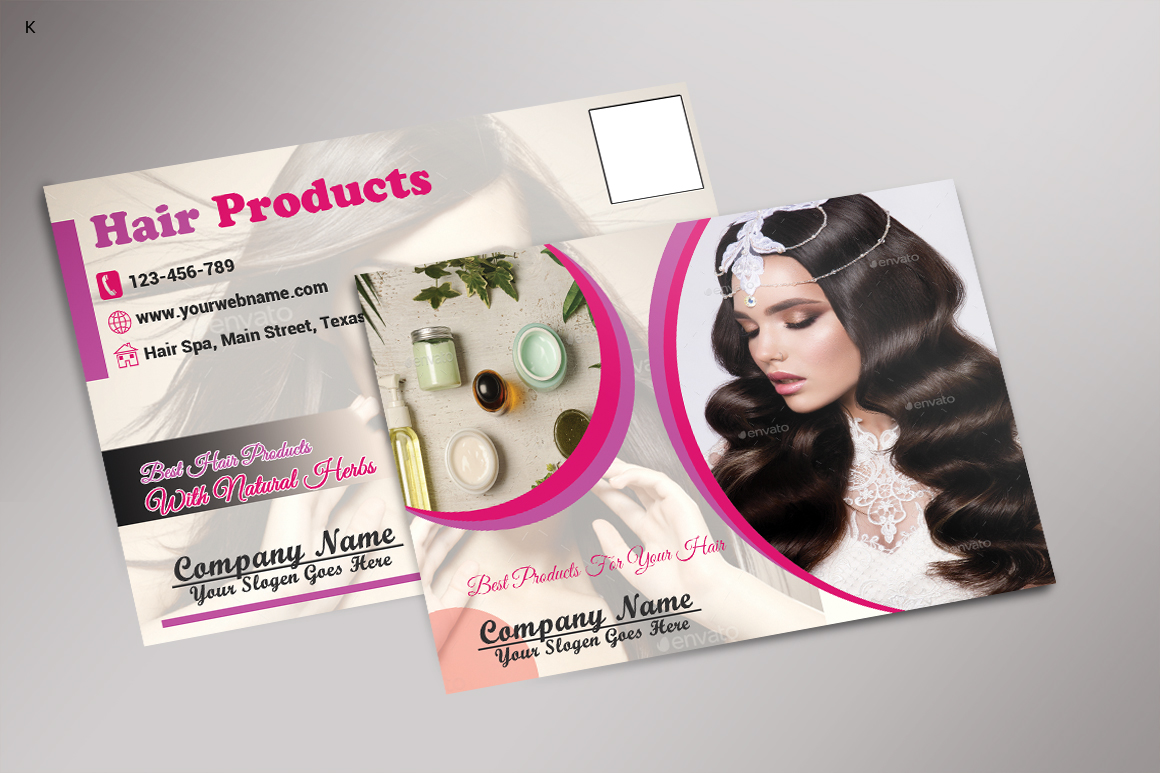 Hair Products Post Card example image 3