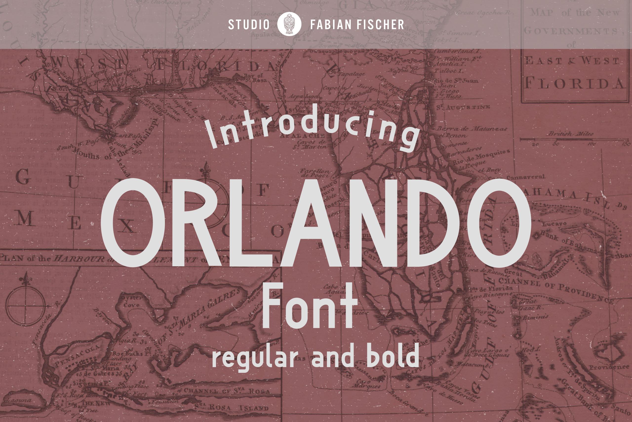 Orlando Font example image 1