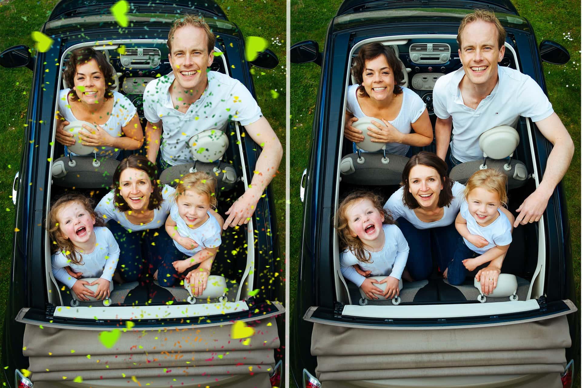 21 Confetti Photo Overlays example image 5