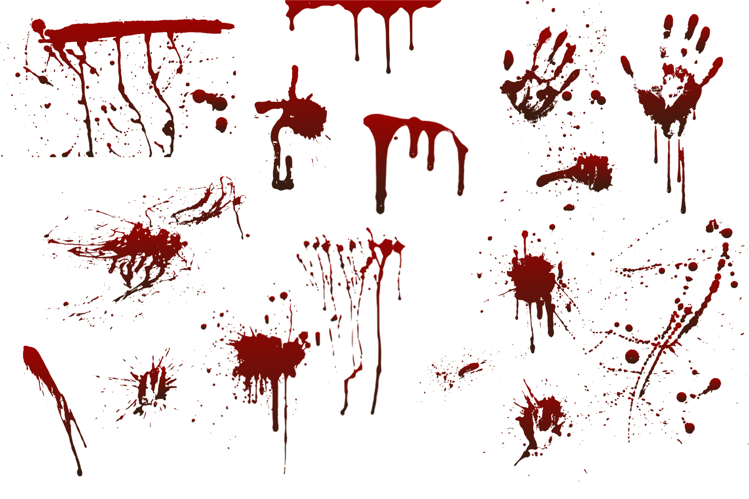 Blood stains example image 2