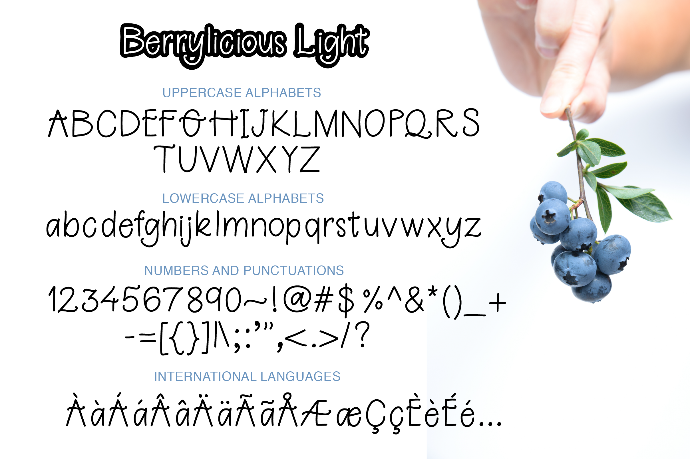 Berrylicious Font example image 5