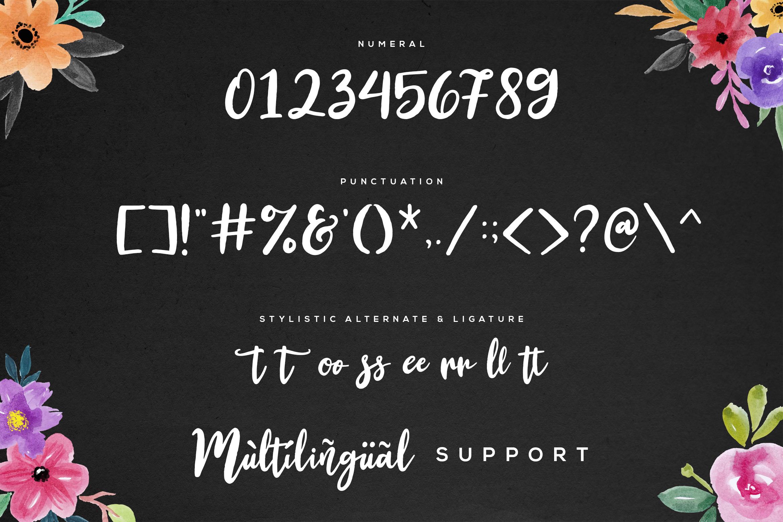 Bellington Script Font example image 7