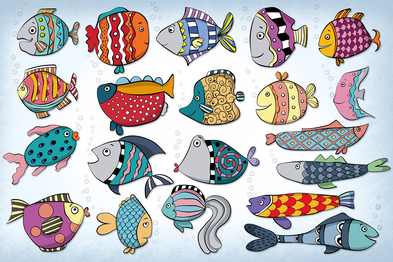 Funky Fish example image 2