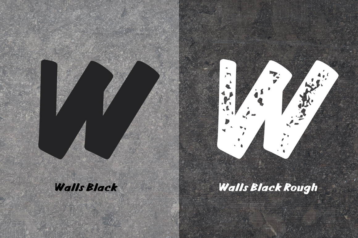 Walls Black & Walls Rough Black example image 5