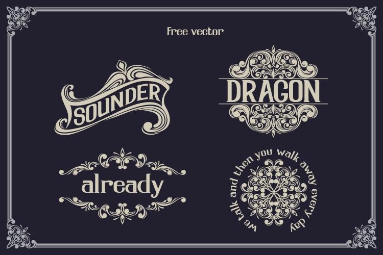 Serdane Typeface & Vector example image 6