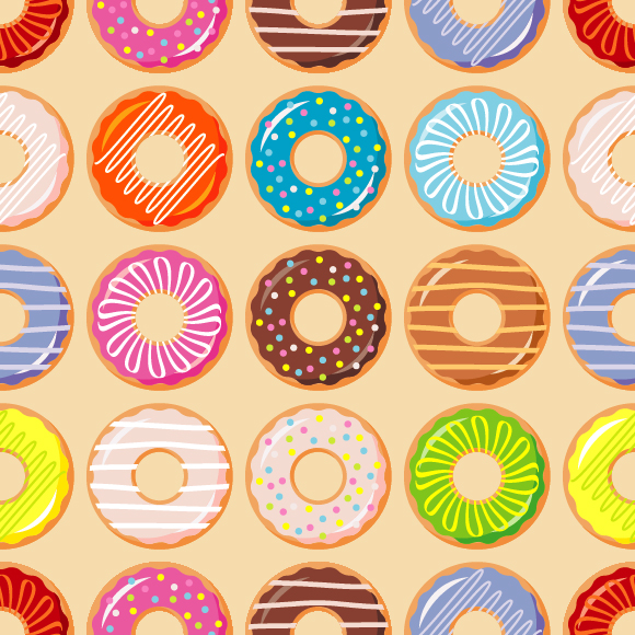 Collection Of Donuts example image 10
